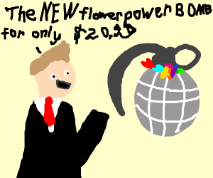 The NEW Flower Power Bomb for only $20,99!