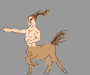 Angry Centaur