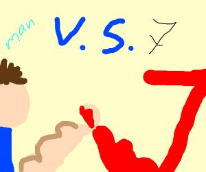 man vs 7