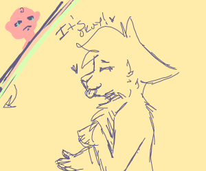 furry consoles crying child