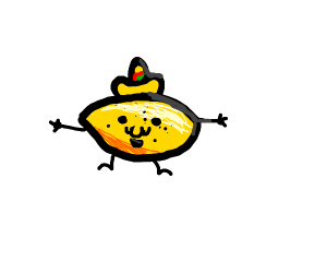 lemon with sombrowow