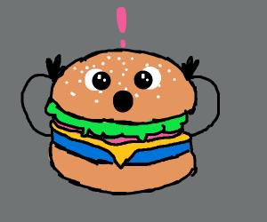 Gasp! Hamburger!