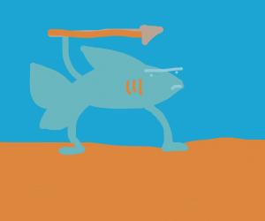 A shark Hunting