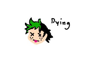 Deku is hecking dying