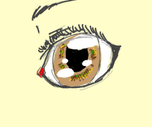 Anime girl eye