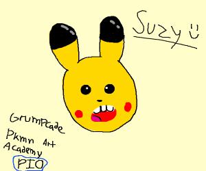Grumpcade Pokemon Art Academy PIO