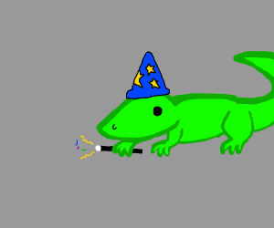 Bearded Dragon Lizards Drawception