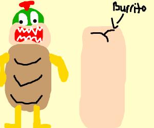 Bowser's Big Bean Burrito