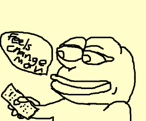 Pepe changes the channel