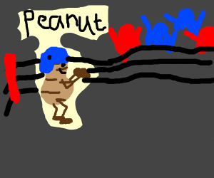 Peanut in a Battle