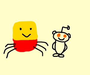 Despacito spider creeps up on Reddit guy
