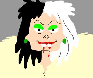 Crudella becomes a vampire