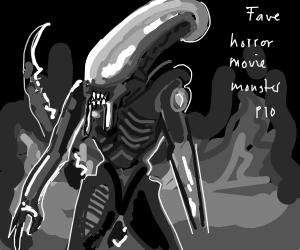 favorite horror movie monster pio