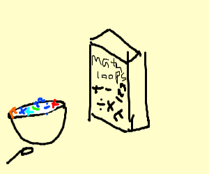 Math Cereal