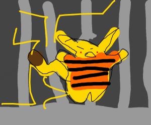 Pikachu Prison Break