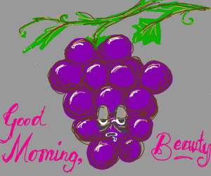 grape z didn't sleep well
