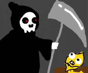 Death killing a lemon