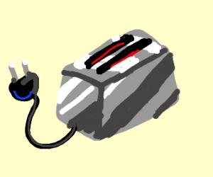 unplugged toaster
