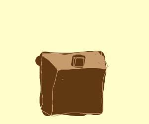 paper bag inside paper bag