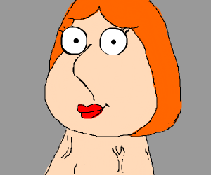 lois (from family guy) has big neck