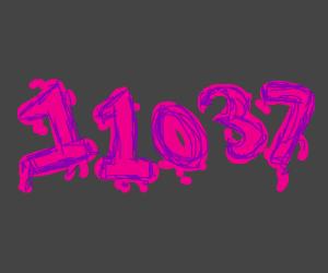 11037