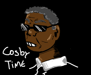 It's Cosby time