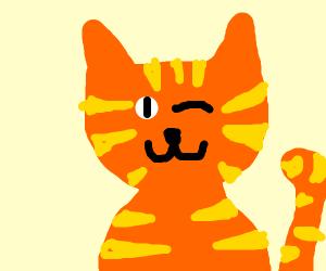 Garfield winking