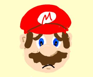 Sad Mario