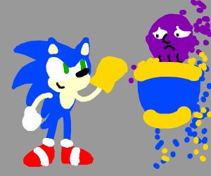 sonic vs thanps