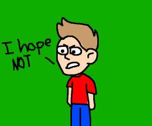 """Jazza (sigh) says """"I Hope NOT"""""""