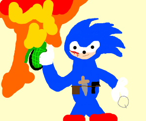 post-apo sonic soldier