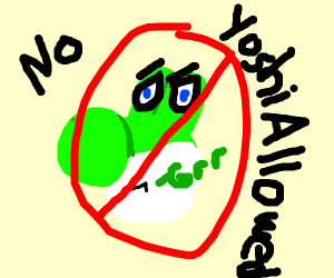 Yoshi angry about being banned