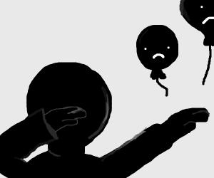 dab away the sadness