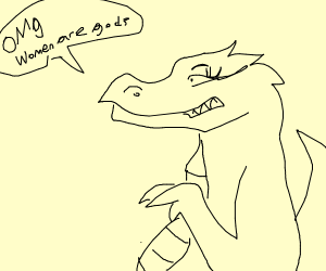 feminist dragon