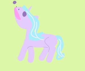 ecstatic unicorn