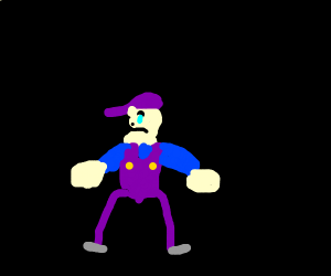 Waluigi Sad About Smash