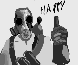 pyro is happy