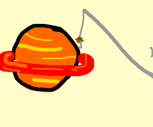 Fishing for saturn