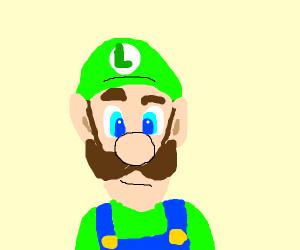 Suspicious Luigi