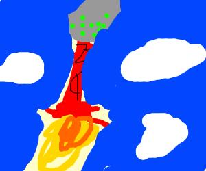 green gumball rocket