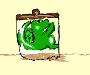 Dragon in a jar