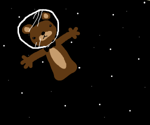 FNAF Freddy goes into space