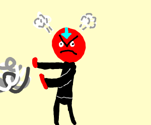 Angery airbender