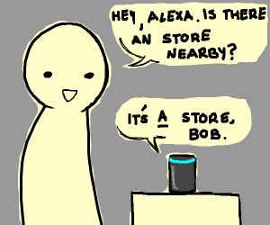 Alexa insults your English skills