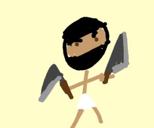 Ninja In Loincloth