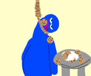 Cookir Monster Hanged himself