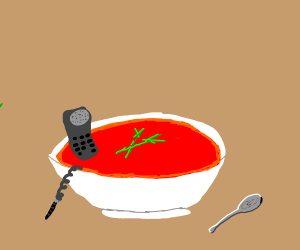 Telephone in my Soup