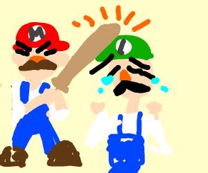 Mario Harasses Luigi?