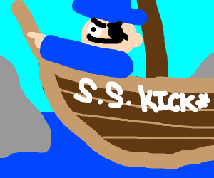 Pirates aboard the S. S. Kickass