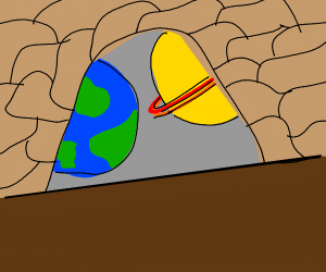 Planet in a Cave